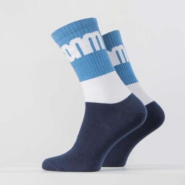 Mass DNM skarpety Socks  Respect - navy