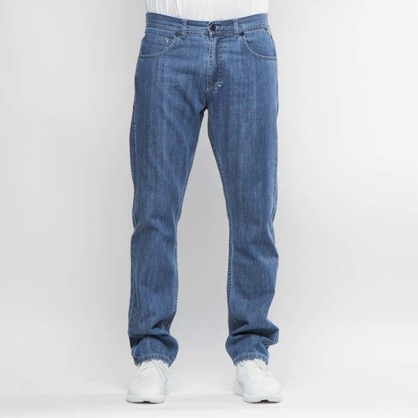 Mass DNM spodnie Demo Jeans Regular Fit - blue