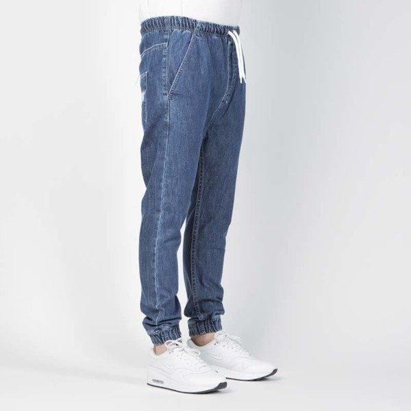 Mass DNM spodnie Truth Joggers Jeans Trap Fit - blue