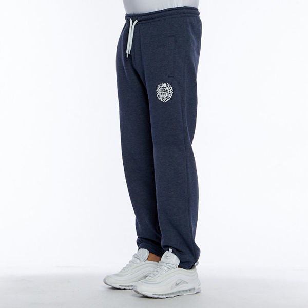 Mass DNM spodnie dresowe Base Sweatpants - heather navy