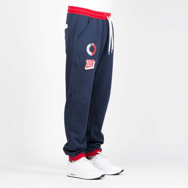 Mass DNM spodnie dresowe Meeting Sweatpants - navy