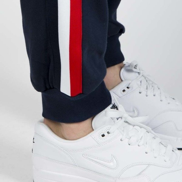 Mass DNM spodnie dresowe Oblique Sweatpants - navy