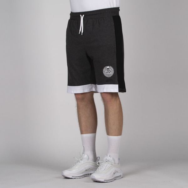 Mass DNM szorty Kyoto Sweatshorts - dark heather grey