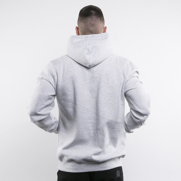 Mass Denim bluza Compton Hoody light heather grey