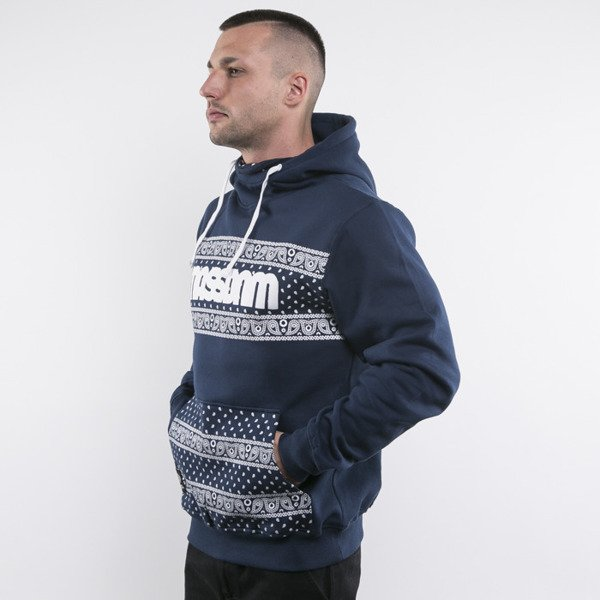Mass Denim bluza Compton Hoody navy