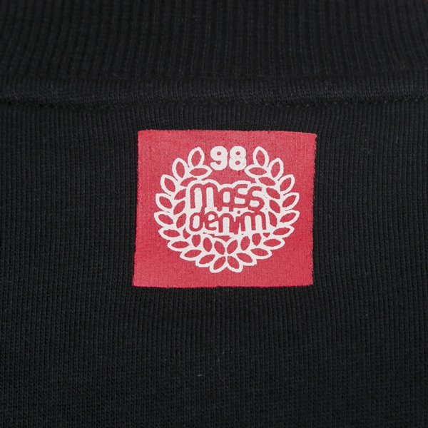 Mass Denim bluza crewneck Biggie black