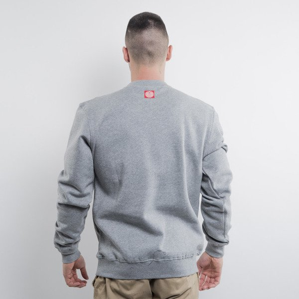 Mass Denim bluza crewneck Biggie light heather grey