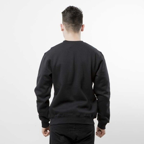 Mass Denim bluza crewneck Flip black