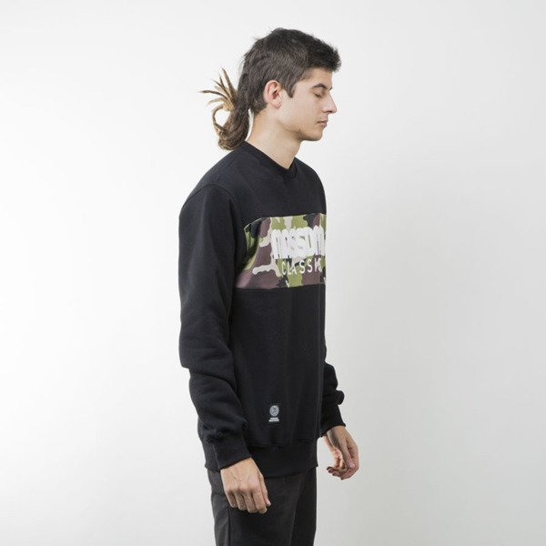 Mass Denim bluza sweatshirt Classics Camo crewneck black