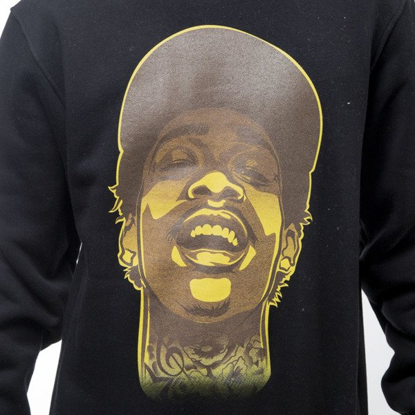 Mass Denim bluza sweatshirt Pittsburgh Legend crewneck black
