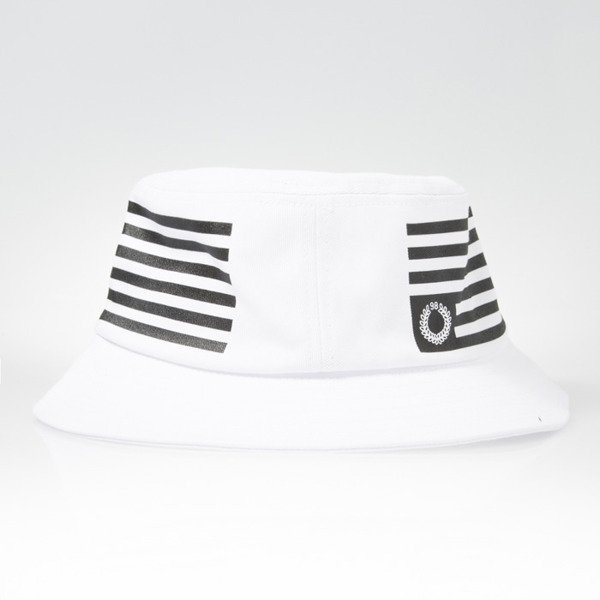 Mass Denim kapelusz bucket hat Empire white black BLAKK