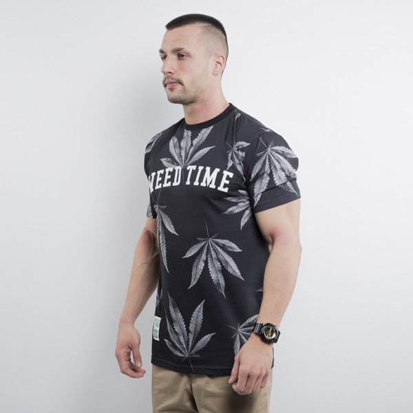 Mass Denim koszulka Blvck Weed black