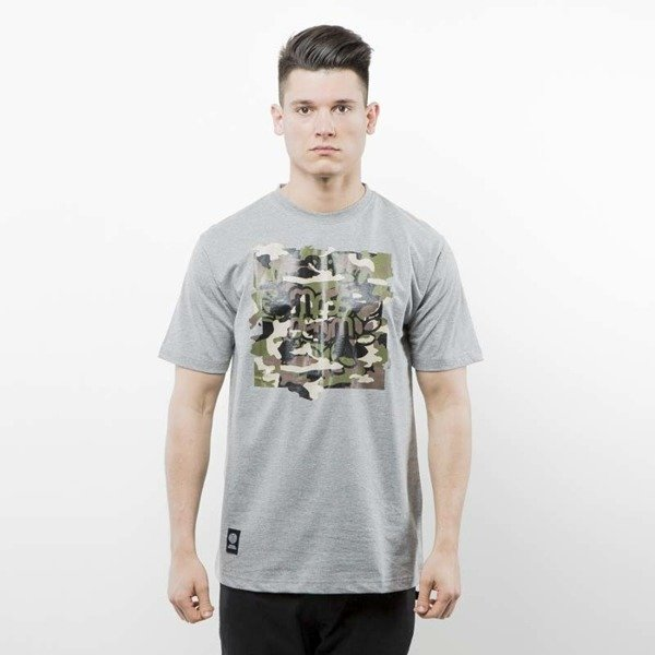 Mass Denim koszulka T-shirt Patrol light heather grey SS 2017