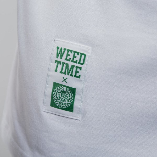 Mass Denim koszulka We Weed You white