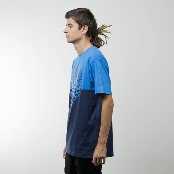 Mass Denim koszulka t-shirt Base Cut blue / navy