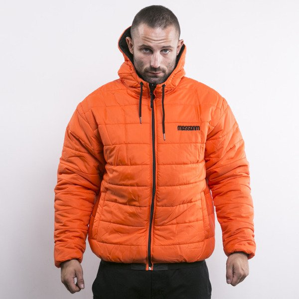Mass Denim kurtka dwustronna Base orange / black