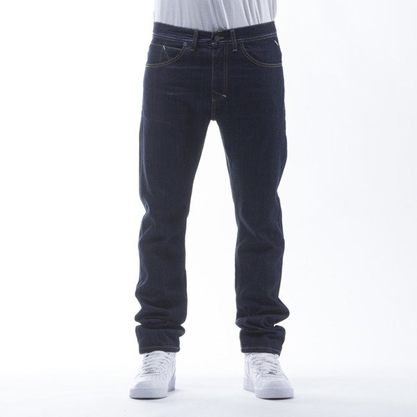 Mass Denim spodnie Jeans Dope tapered fit rinse
