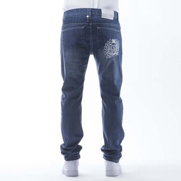 Mass Denim spodnie Jeans Pocket Base tapered fit blue