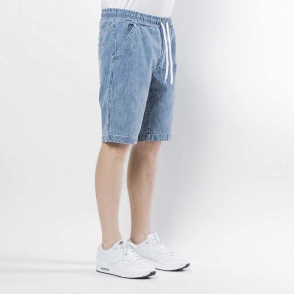 Mass Denim szorty Campus Shorts Jeans straight fit - light blue