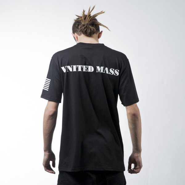 Mass Denim t-shirt koszulka  Empire black BLAKK