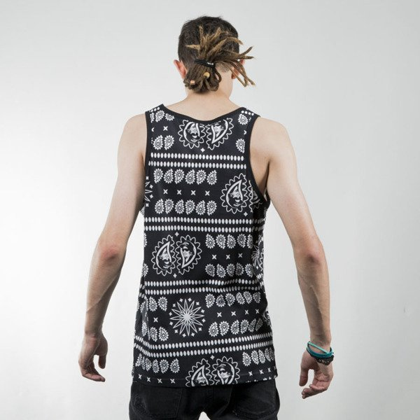 Mass Denim tank top koszulka Where is Eazy black