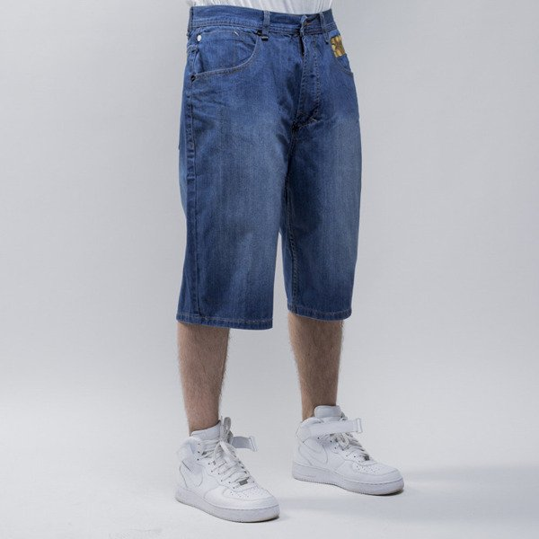 Mass Dnm szorty Class baggy fit blue