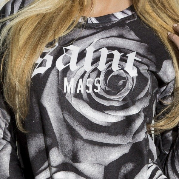 Saint Mass bluza Roses Crewneck multicolor