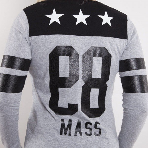Saint Mass bluza So Many Crewneck light grey heather