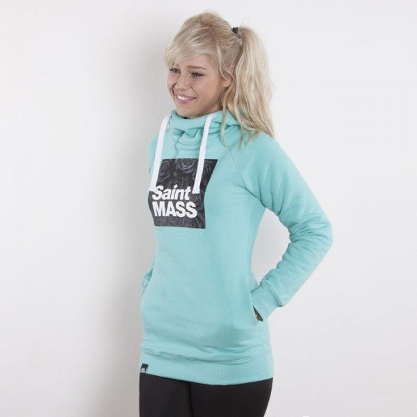 Saint Mass bluza Square mint