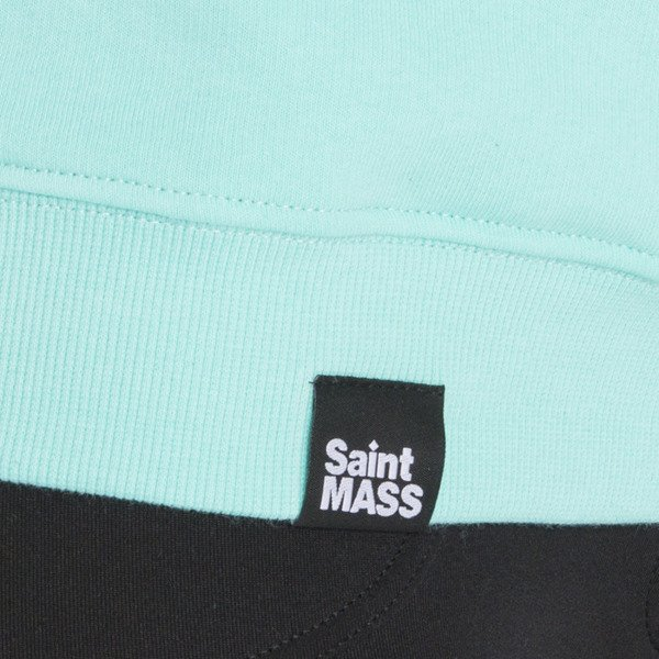 Saint Mass bluza crewneck Shut Up mint