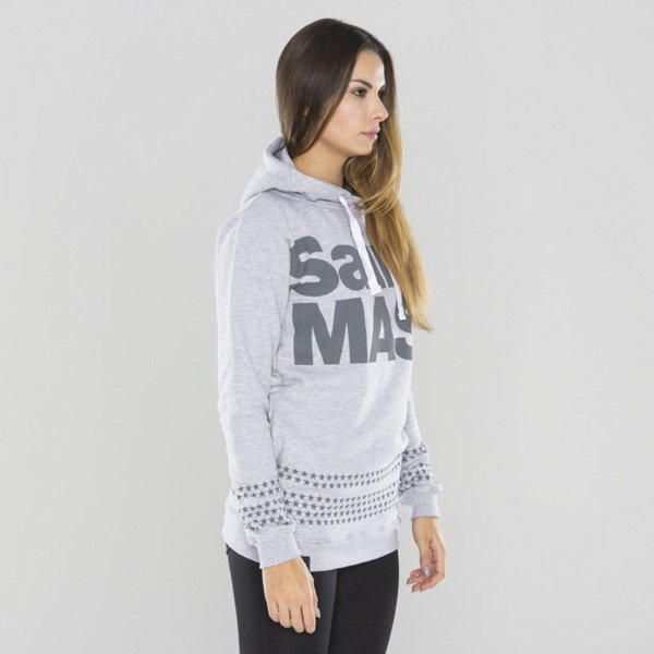 Saint Mass bluza hoody Oversize heather grey