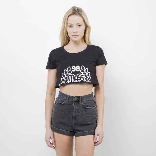 Saint Mass koszulka Crop Top Base black