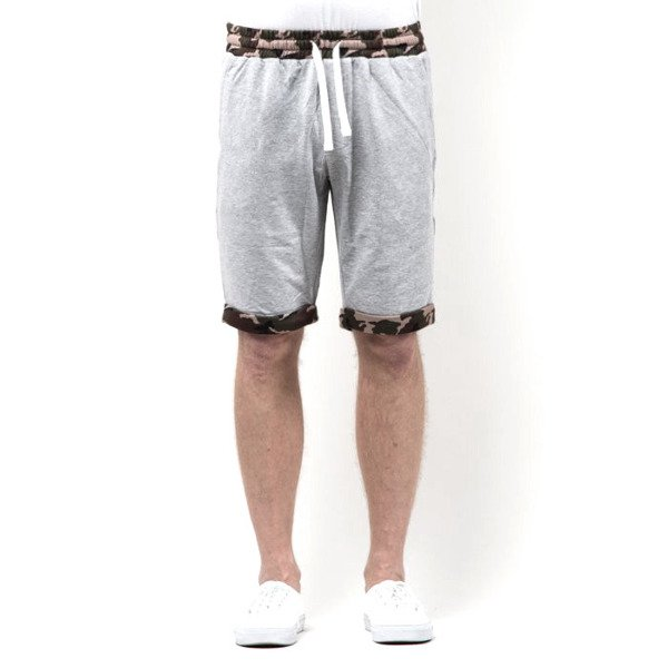 Szorty Mass Denim Sweatshorts Patrol light heather grey SS 2017