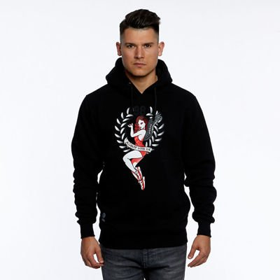Mass DNM bluza Sweatshirt Always Hoody - black
