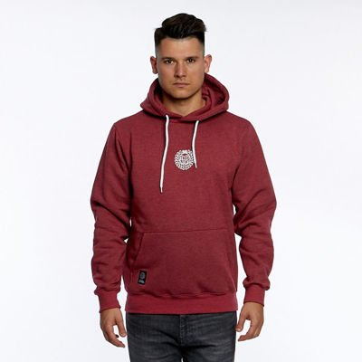 Mass DNM bluza Sweatshirt Base Small Logo Hoody - heather claret