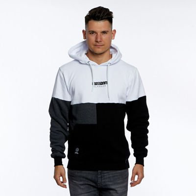 Mass DNM bluza Sweatshirt Capital Hoody - white